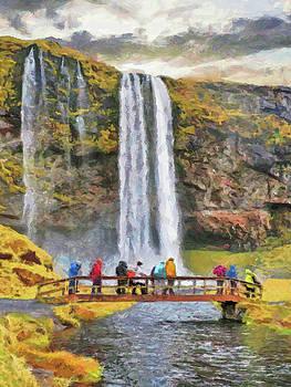 Seljalandsfoss Waterfall by Digital Photographic Arts
