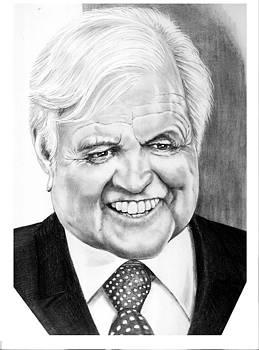 Senator Edward Kennedy by Murphy Elliott