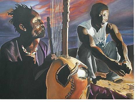 Senegal Singers of Africa by Bennie Parker