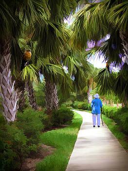 Senior Walk in the Park by Rosalie Scanlon