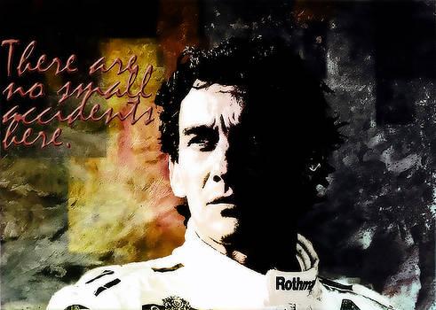 Senna legend by Ivan Gomez