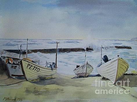 Martin Howard - Sennen Cove Fishing boats