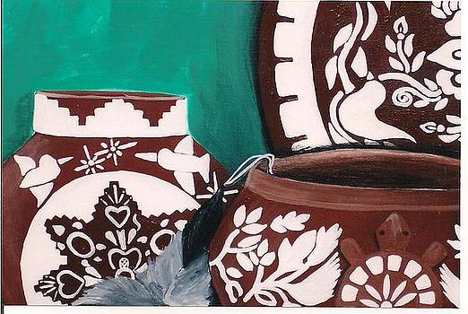 Senoras' clay by Mickey Patrick