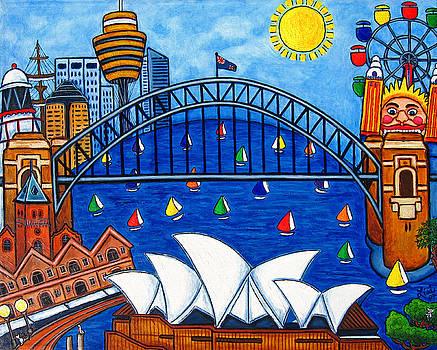 Sensational Sydney by Lisa  Lorenz