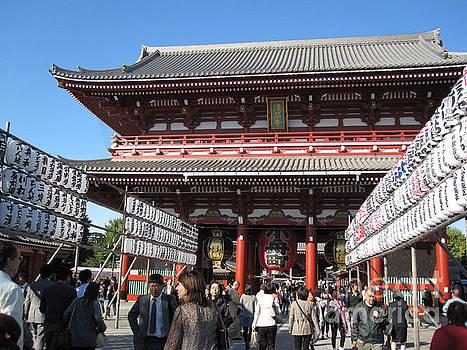 Senso-ji Shrine by Brandy Woods