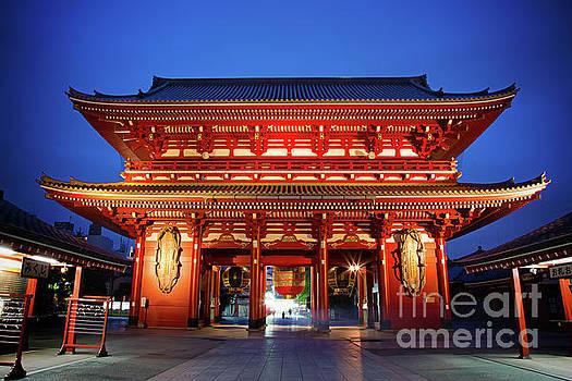 Sensoji Temple Tokyo by Jane Rix