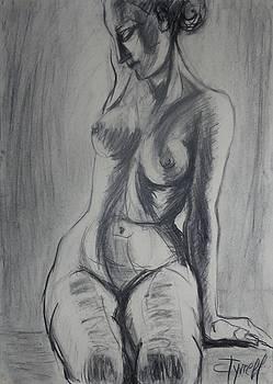 Sensual - Female Nude by Carmen Tyrrell