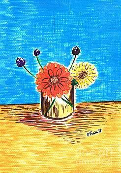 Sentimental Wild Flowers  by Teresa White