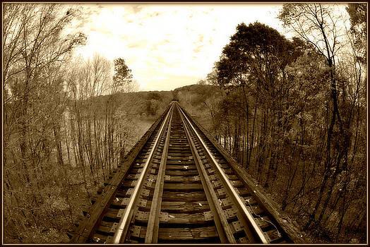 Sepia Tracks by Jon Benson