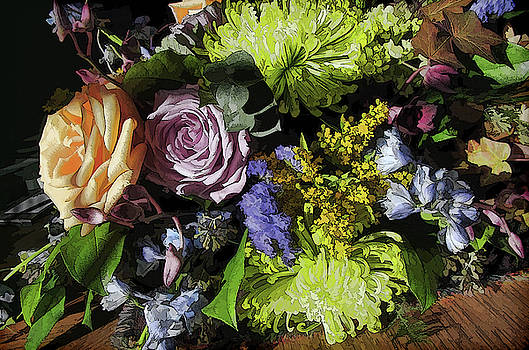 Sept. Bouquet by Betsy Zimmerli