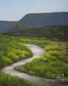 September on the Rio Chama by Phyllis Andrews
