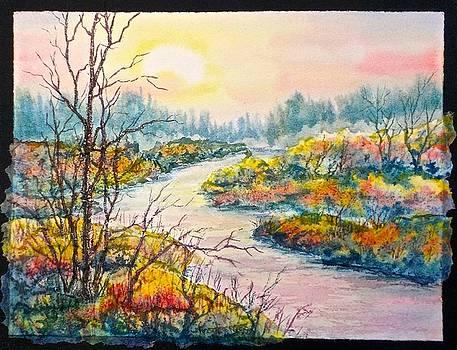 September Sunrise by Carolyn Rosenberger