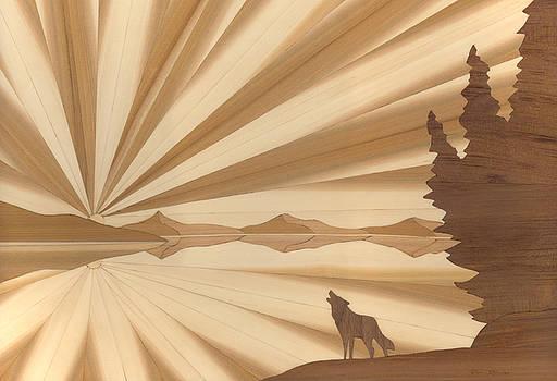 Howling Wolf by Glen Stanley