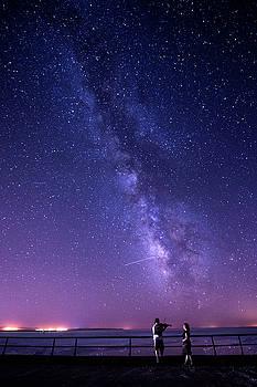 Serenade Under Milky Way by Okan YILMAZ