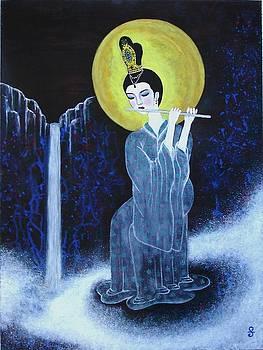 Serene Angel by Silvia Gold