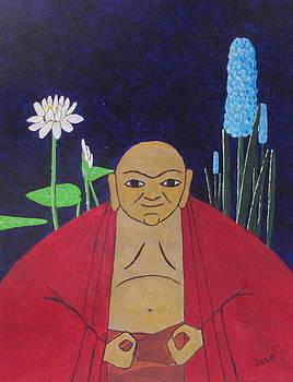 Serene Buddha by Hilda and Jose Garrancho