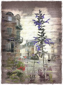 A Stroll Through the Old Village by Linda Ouellette