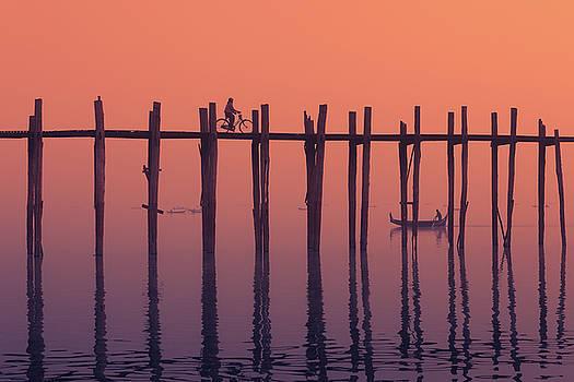 Serene Dawn by Marji Lang
