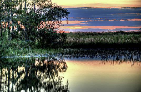 Serene Sundown by Allan Einhorn