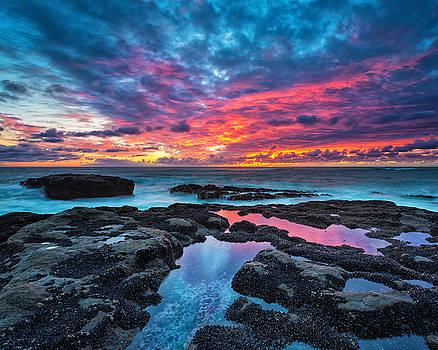 Serene Sunset 16x20 by Robert Bynum