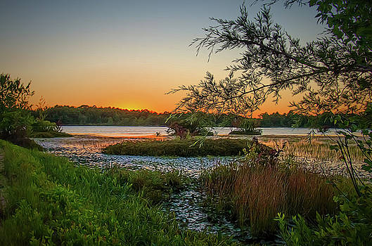 Serene Sunset by Beth Sawickie