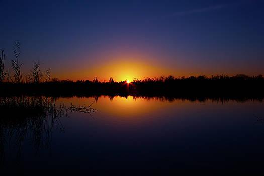 Serene Sunset by Mark Andrew Thomas