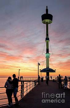Serene Sunset by Ray Warren