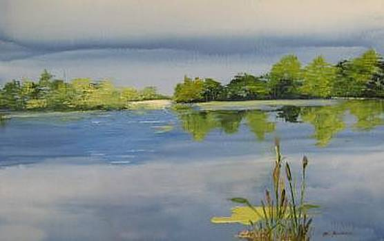 Serenity Lake by Stan  Sternbach