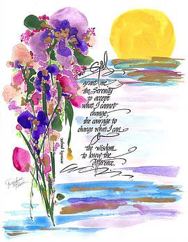 Serenity Prayer by Darlene Flood