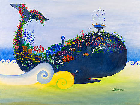 Serenity Whale by Theresa LaBrecque