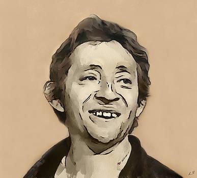 Serge Gainsbourg by Sergey Lukashin