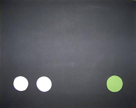 Serial Dots-Green by David Lothar