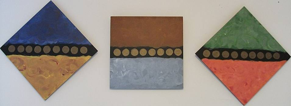 Serial Dots-Trio by David Lothar
