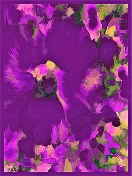 Series of Hibiscus Flower by Debra Lynch