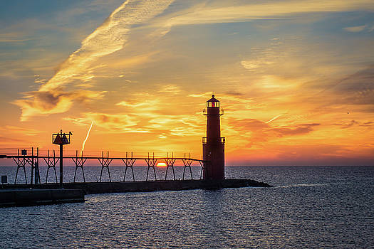 Serious Sunrise by Bill Pevlor