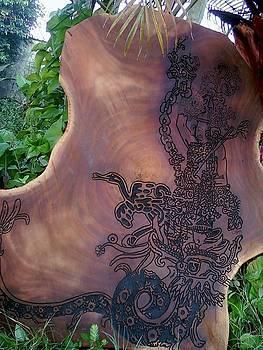 Serpiente emplumada II by Calixto Gonzalez