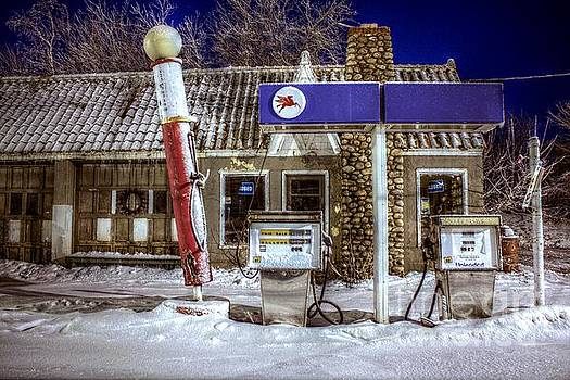 Service Station Closed by John December