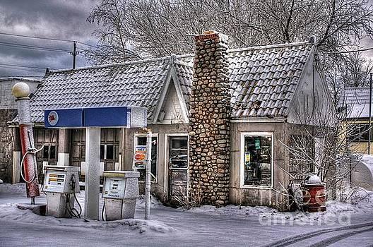 Service Station by John December