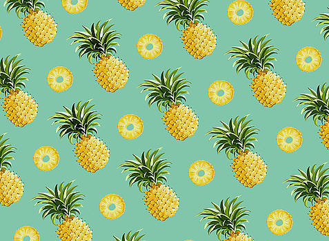 Set of pineapples by Vitor Costa