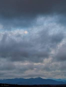 Setting Moon by Brian Shepard