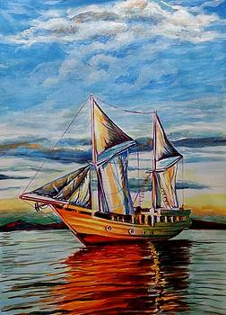 Setting Sail by Manju Chaudhuri