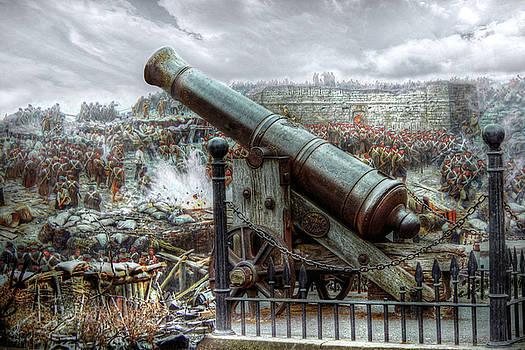 Sevastopol Cannon 1855 by Pennie  McCracken