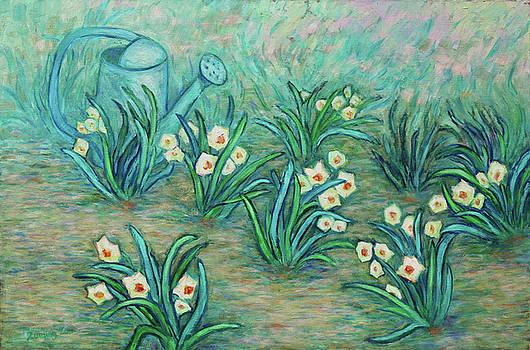 Seven Daffodils by Xueling Zou