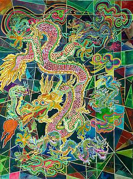 Seven Dragons by Karen Merry