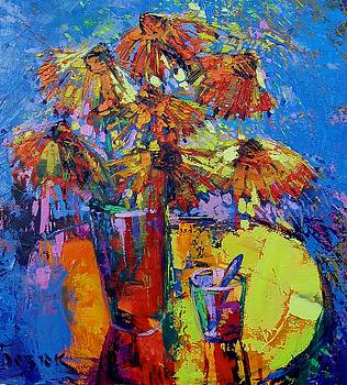 Seven Flowers of the Autumn by Oleh Bezyuk