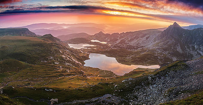 Seven Lakes by Evgeni Dinev