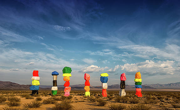 Seven Magic Mountains by Alex Isom