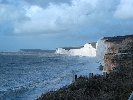 Seven Sisters England by Karen R Scoville