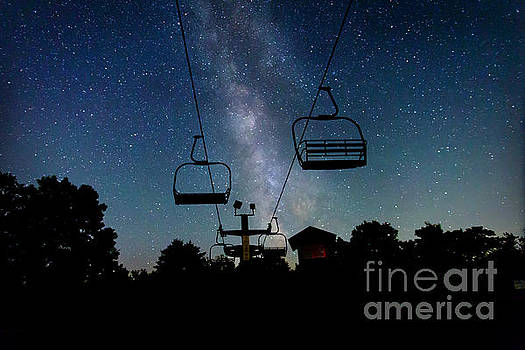 Seven Springs Milky Way by Brenda Schwartz