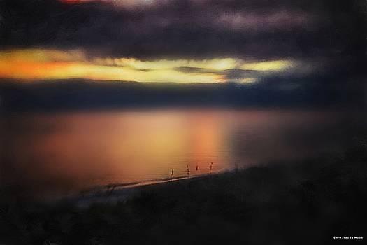 Seven Thirty Sunset Beach by Michelle Gross